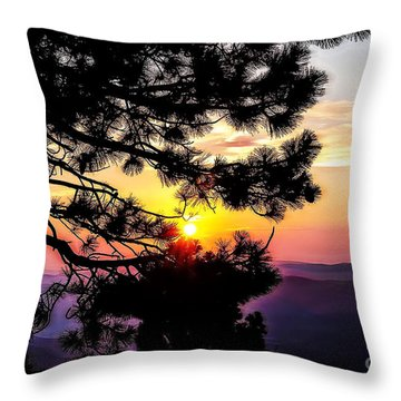 The Rising Sun-2 Throw Pillow
