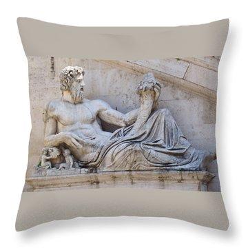 The Tiber Throw Pillow