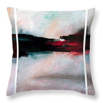 The River Tethys Throw Pillow