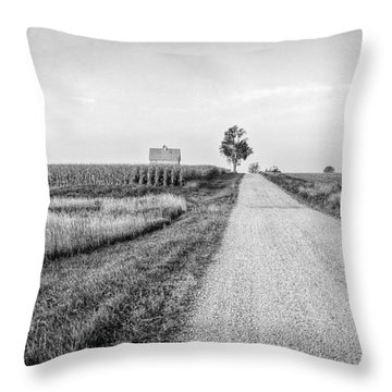 The Road Home Throw Pillow by Jeff Burton