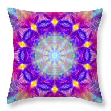 The Road To Source K1 Throw Pillow by Derek Gedney