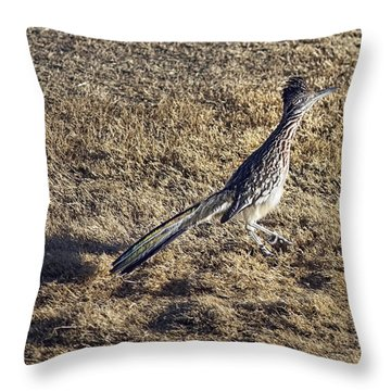The Roadrunner Throw Pillow