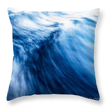 The Roar Of The Sea Throw Pillow