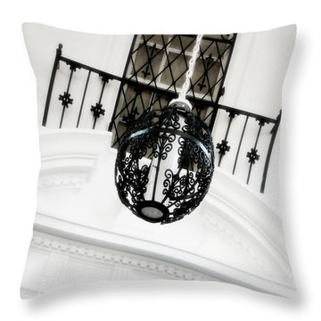 The Room Throw Pillow by Julie Palencia