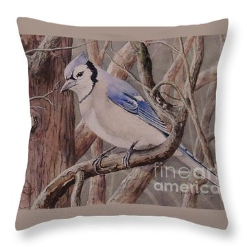 The Roost Sold Throw Pillow