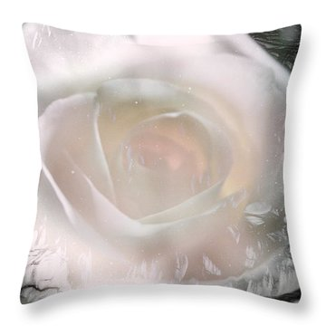 The Rose The Symbol Of Love Throw Pillow