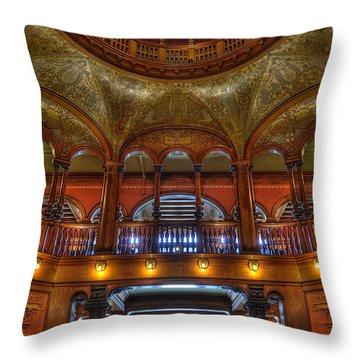 The Rotunda 2 Throw Pillow