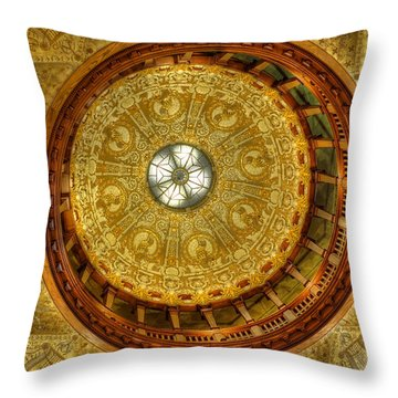 The Rotunda Throw Pillow