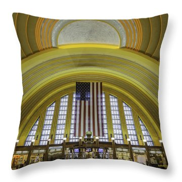 The Rotunda Throw Pillow