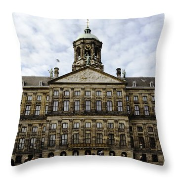 The Royal Palace Throw Pillow by Pravine Chester