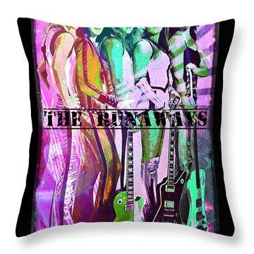 The Runaways Throw Pillow