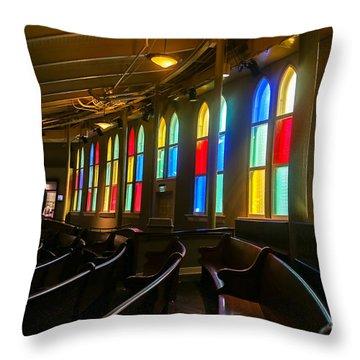 The Ryman Auditorium Throw Pillow by John Roberts
