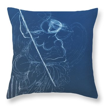 The Sacred Feminine  Throw Pillow