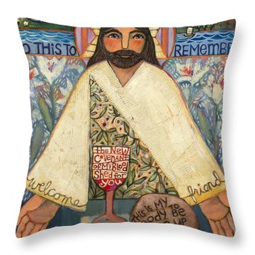 The Sacrifice Throw Pillow