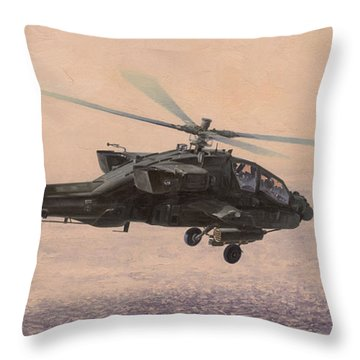 The Sadr City Flying Club Throw Pillow by Wade Meyers