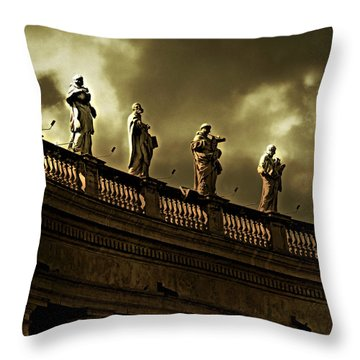 The Saints  Throw Pillow