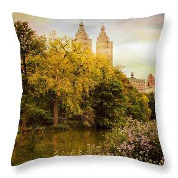 Throw Pillow featuring the photograph The San Remo by Jessica Jenney