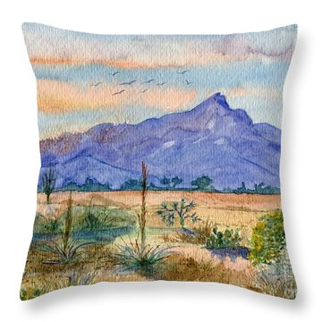 The San Tans Throw Pillow