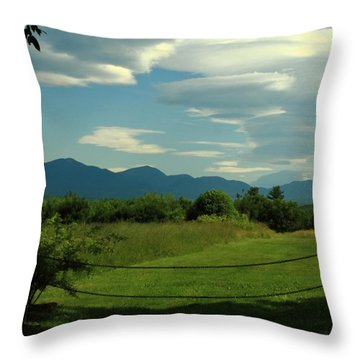 The Sandwich Range 2 Throw Pillow