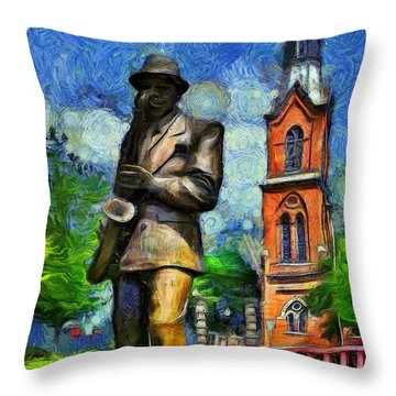 Inspired By Van Gogh Throw Pillows