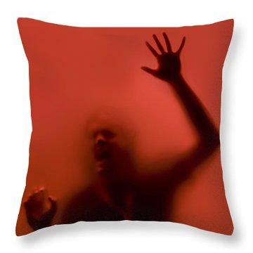 The Scream Throw Pillow by Diane Diederich