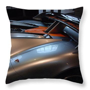 The Sculptured Rear 918 R S R Throw Pillow