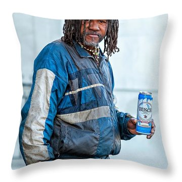 The Second Most Interesting Man In The World  Throw Pillow by Steve Harrington
