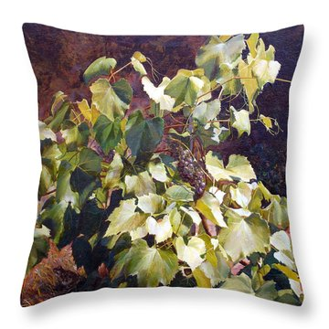 The Secret Hiding Place Throw Pillow