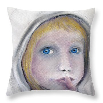 The Secret Throw Pillow by Loretta Luglio