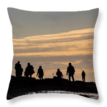 The Seekers Throw Pillow