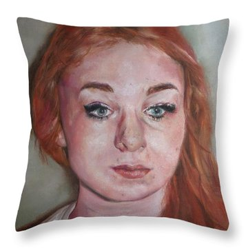The Self Throw Pillow by Cherise Foster