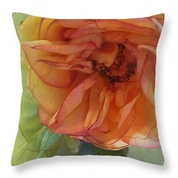 The Sensitive One Throw Pillow by Shirley Sirois