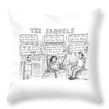 The Sequels 3 Panels Parodying A Book Called Throw Pillow