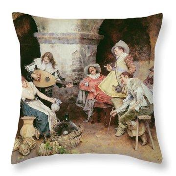The Serenade Painting By Francesco Vinea