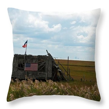 The Shack II Throw Pillow