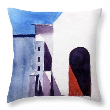 The Shadow Play Throw Pillow