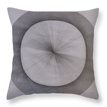 The Shape Of Pi Throw Pillow