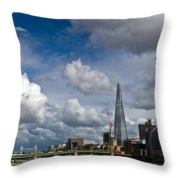 The Shard At Southwark Throw Pillow