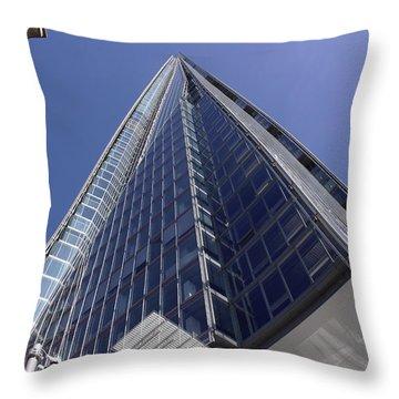 The Shard London Bridge Throw Pillow by Nicky Jameson