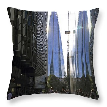 The Shard London Throw Pillow