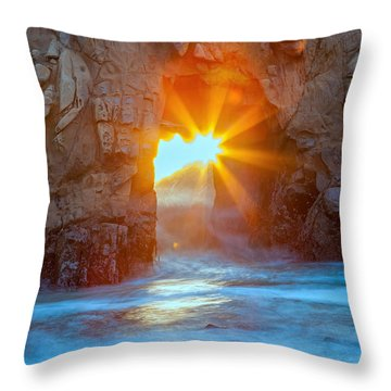The Shining Star Throw Pillow
