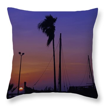 Throw Pillow featuring the photograph The Ship by Leticia Latocki