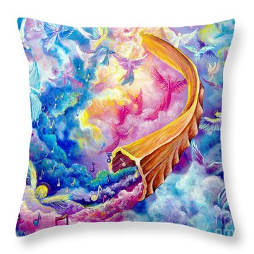 The Shofar Throw Pillow
