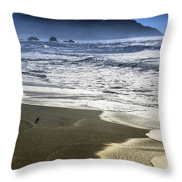 The Shore Throw Pillow