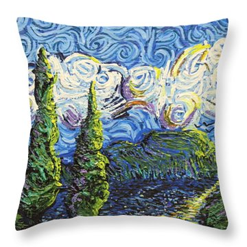 The Shores Of Dreams Throw Pillow