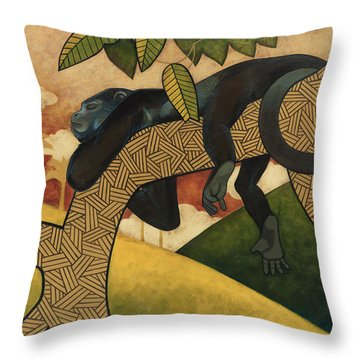 The Siesta Throw Pillow by Nathan Miller