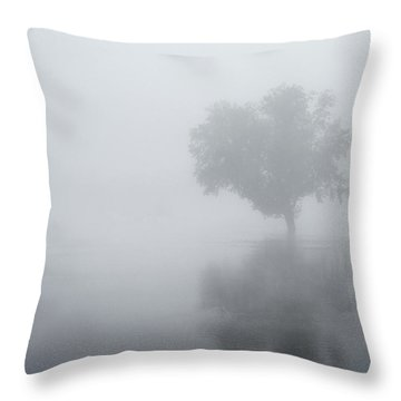 The Silence Is Deafening Throw Pillow