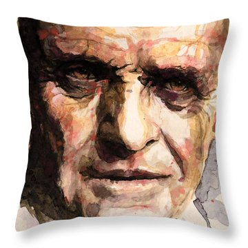 The Silence Of The Lambs Throw Pillow by Laur Iduc