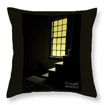 The Silent Room Throw Pillow