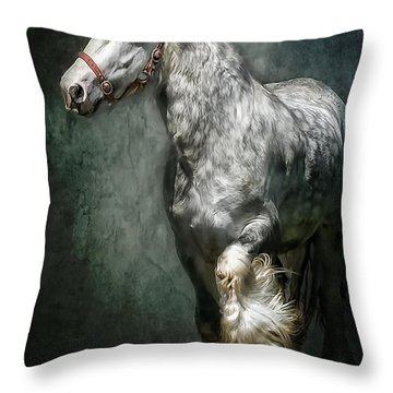 The Silver Gypsy Throw Pillow